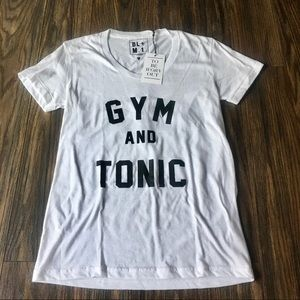 """Luciana """"Gym and Tonic"""" T shirt"""